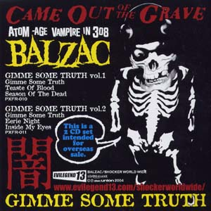 Balzac - 66 Hits From Darkism Vol.II